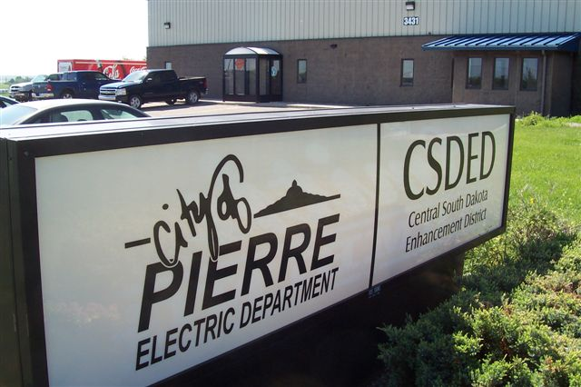 Electric Department Sign