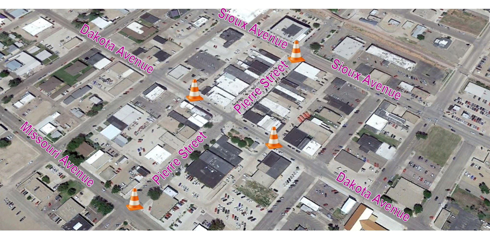 pierre street closure