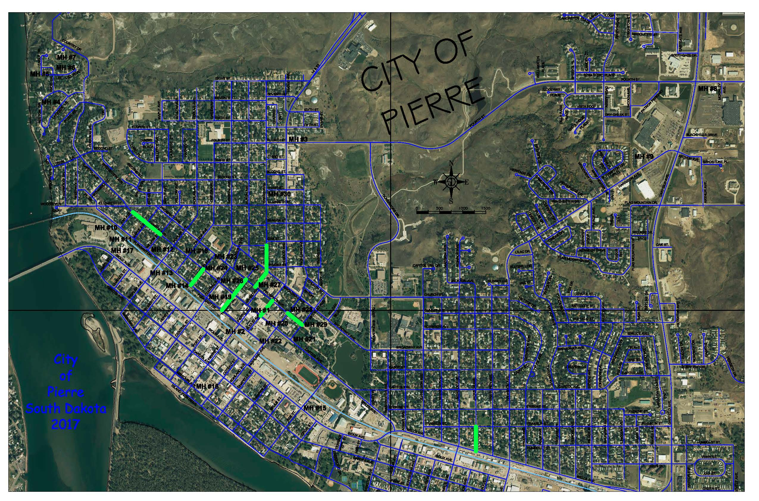 SANITARY SEWER REHAB MAP