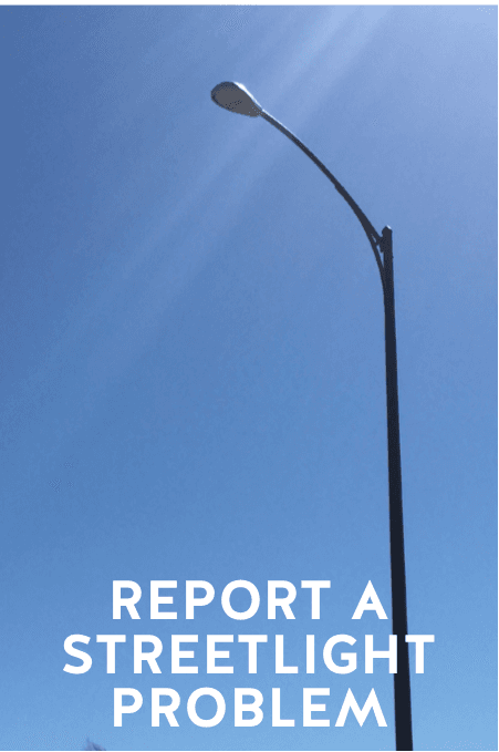 REPORT A STREETLIGHT PROBLEM_BUTTON