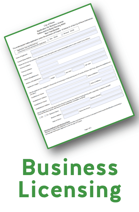 Business Licensing Page