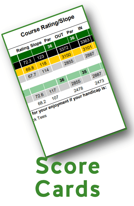 SCORE CARDS GRAPHIC