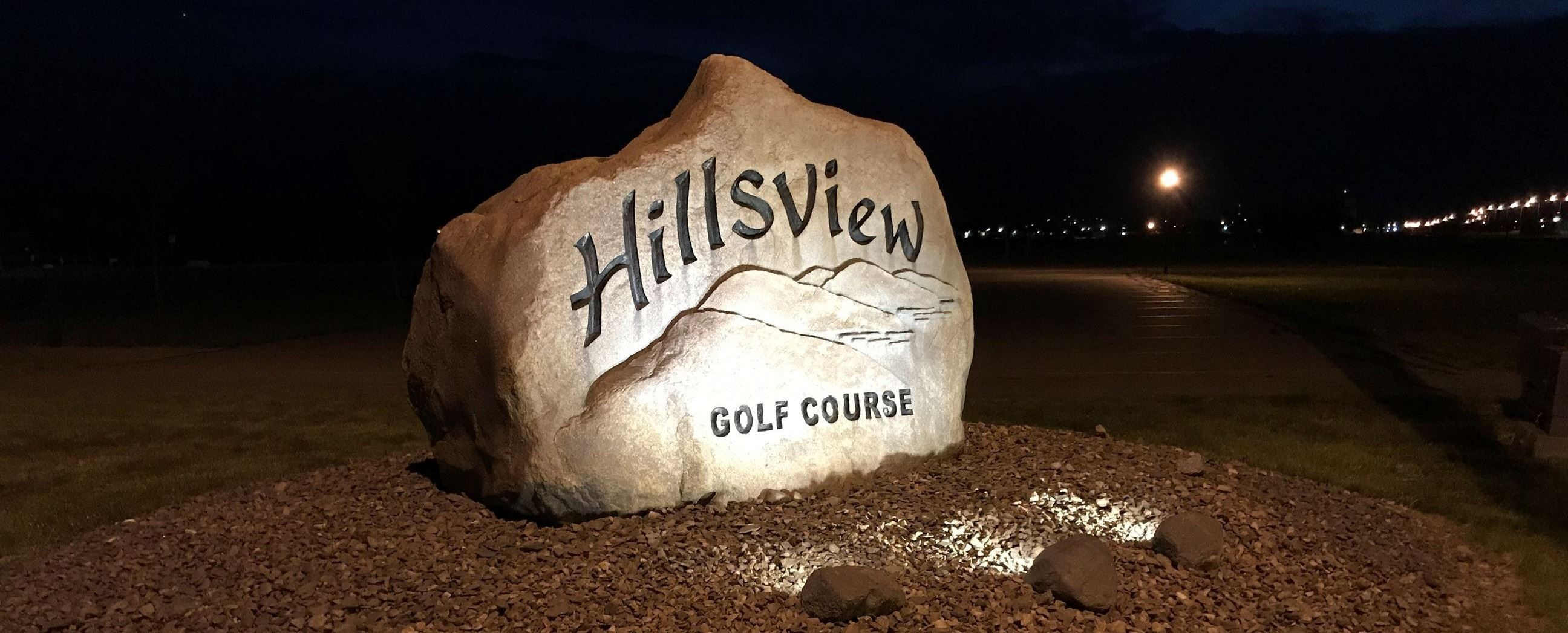 HILLSVIEW  WELCOME ROCK IMAGE