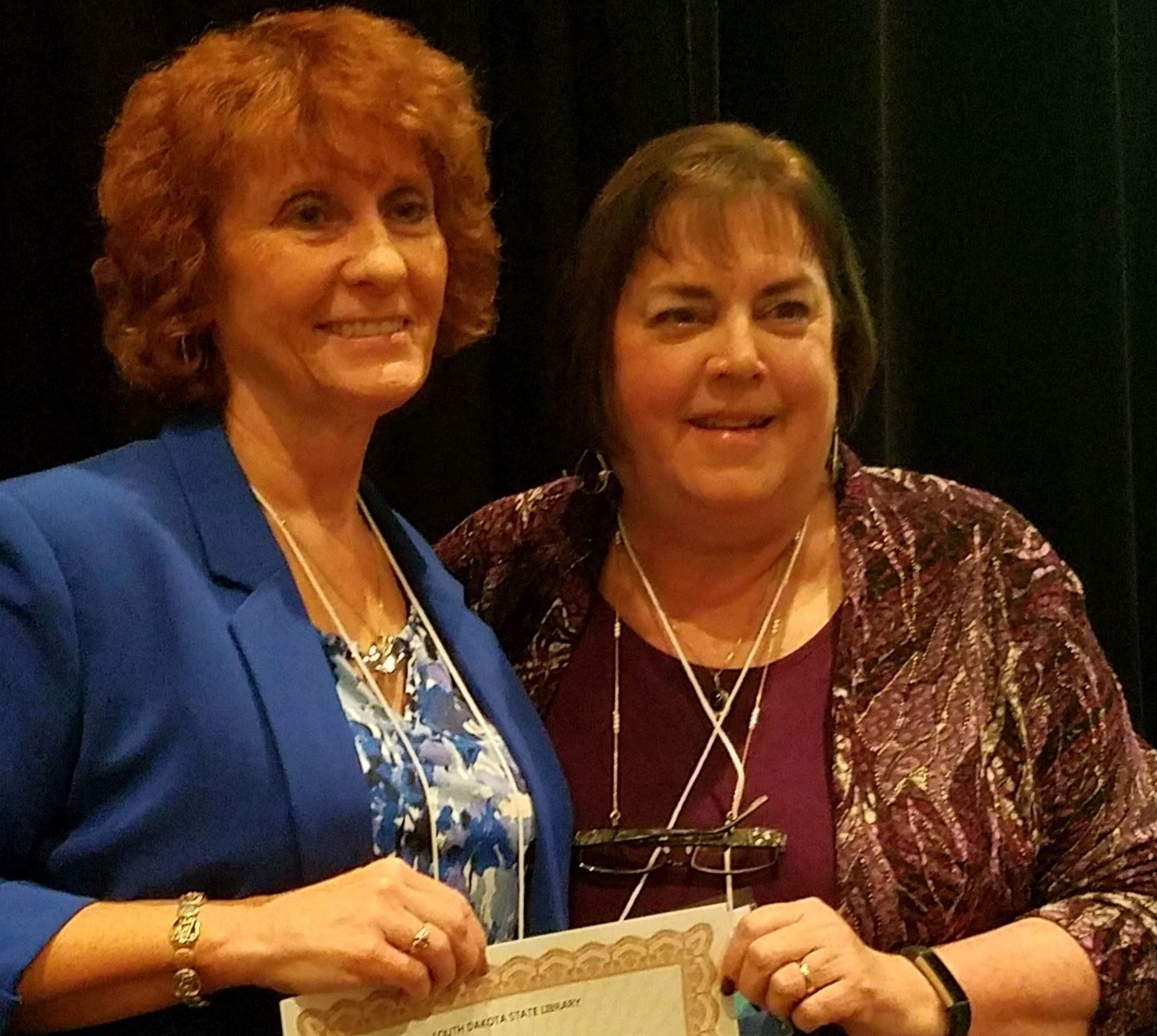 Robin Schrupp receives Library Association certification