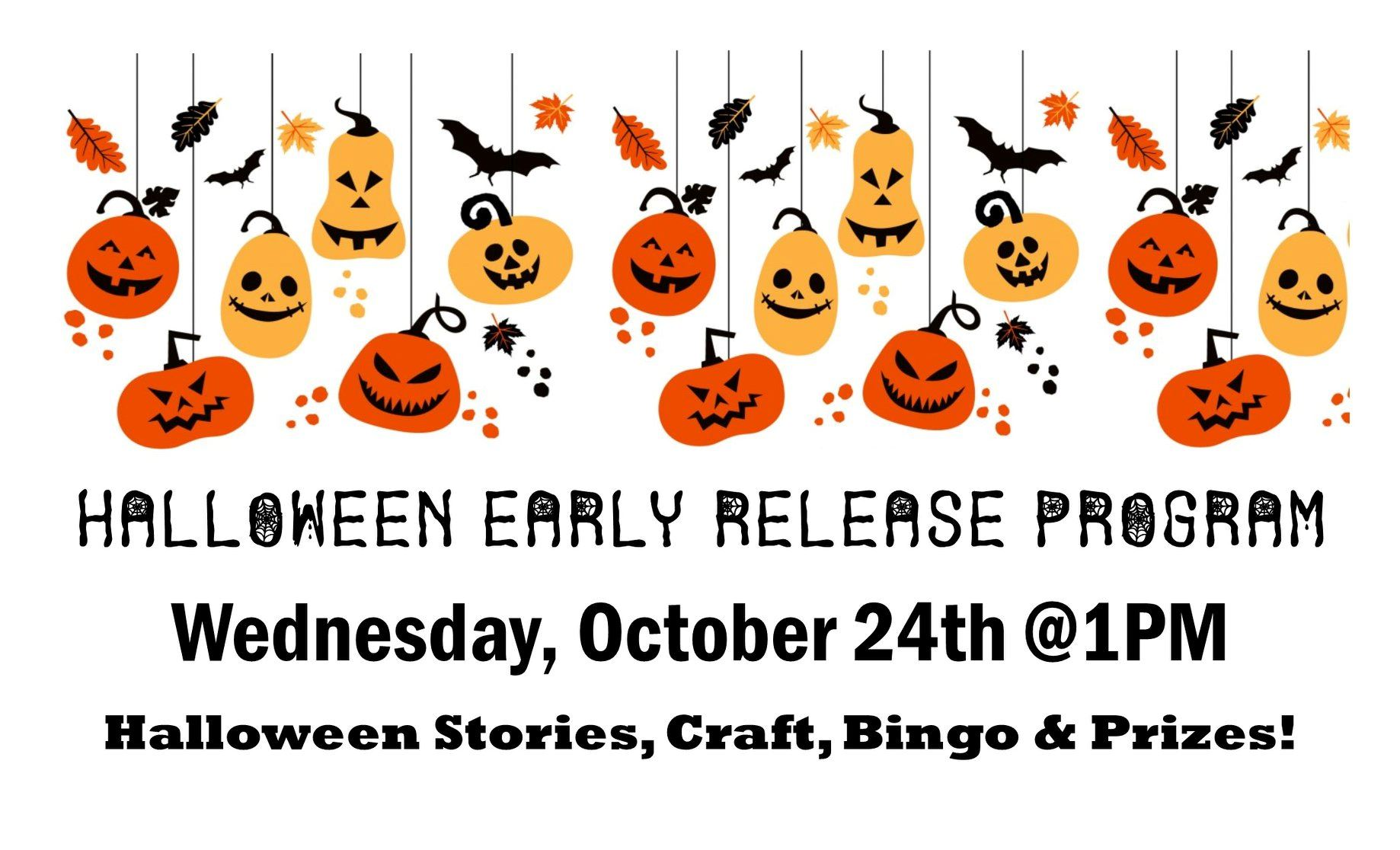 HALLOWEEN PROGRAMMING AT LIBRARY
