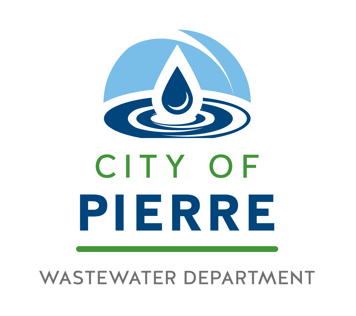 City of Pierre Wastewater Logo