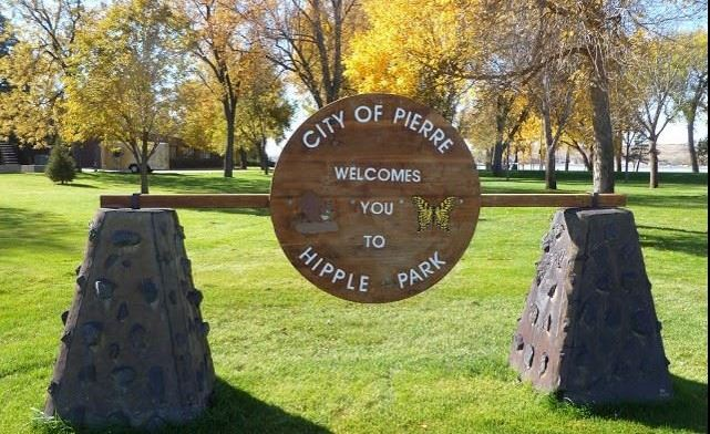 Hipple Park Welcome Sign