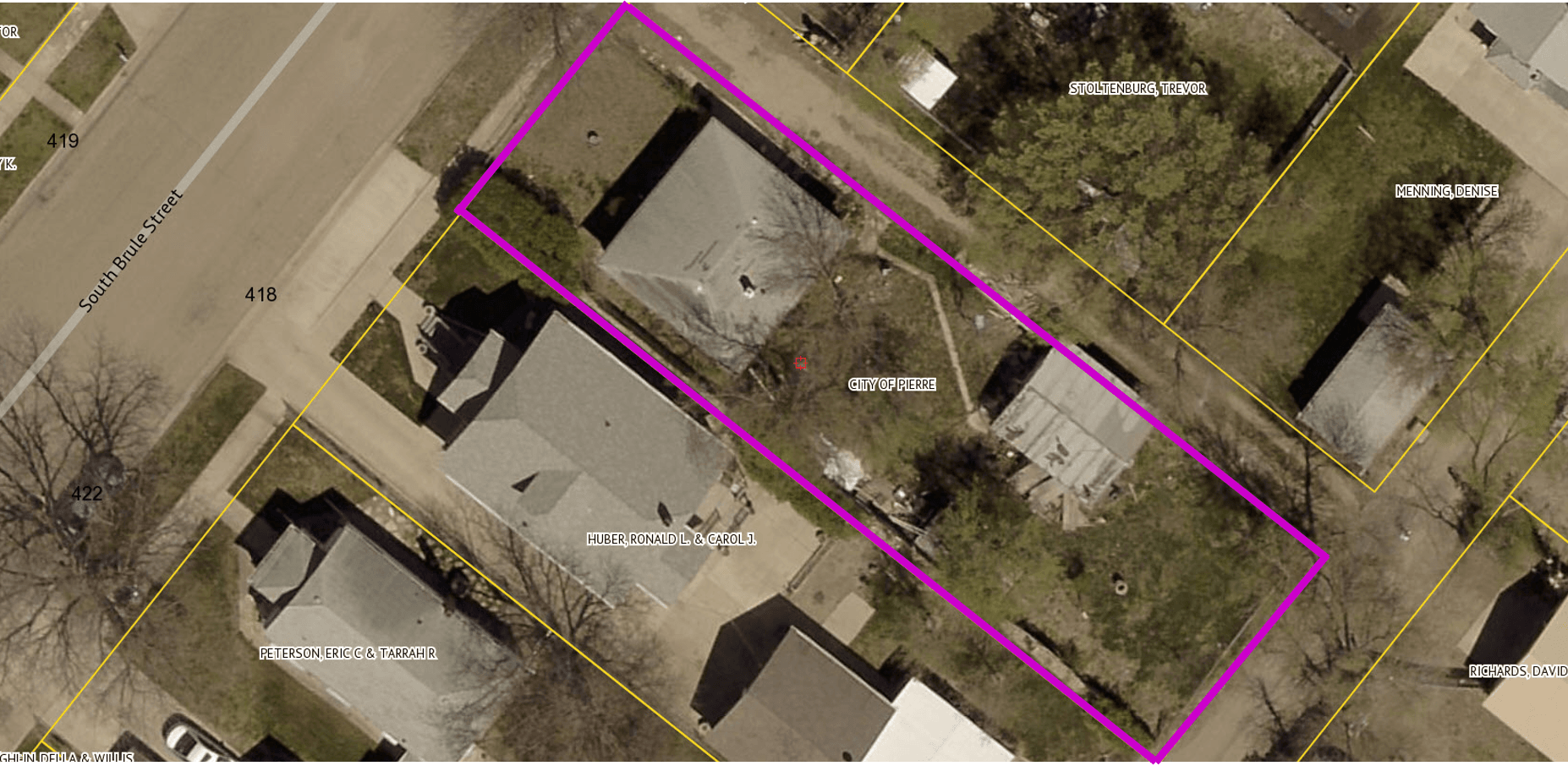 SURPLUS PROPERTY MAP