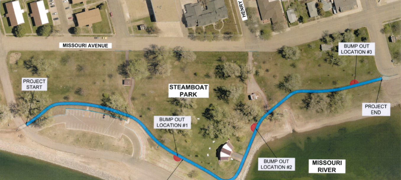 STEAMBOAT TRAIL PROJECT MAP