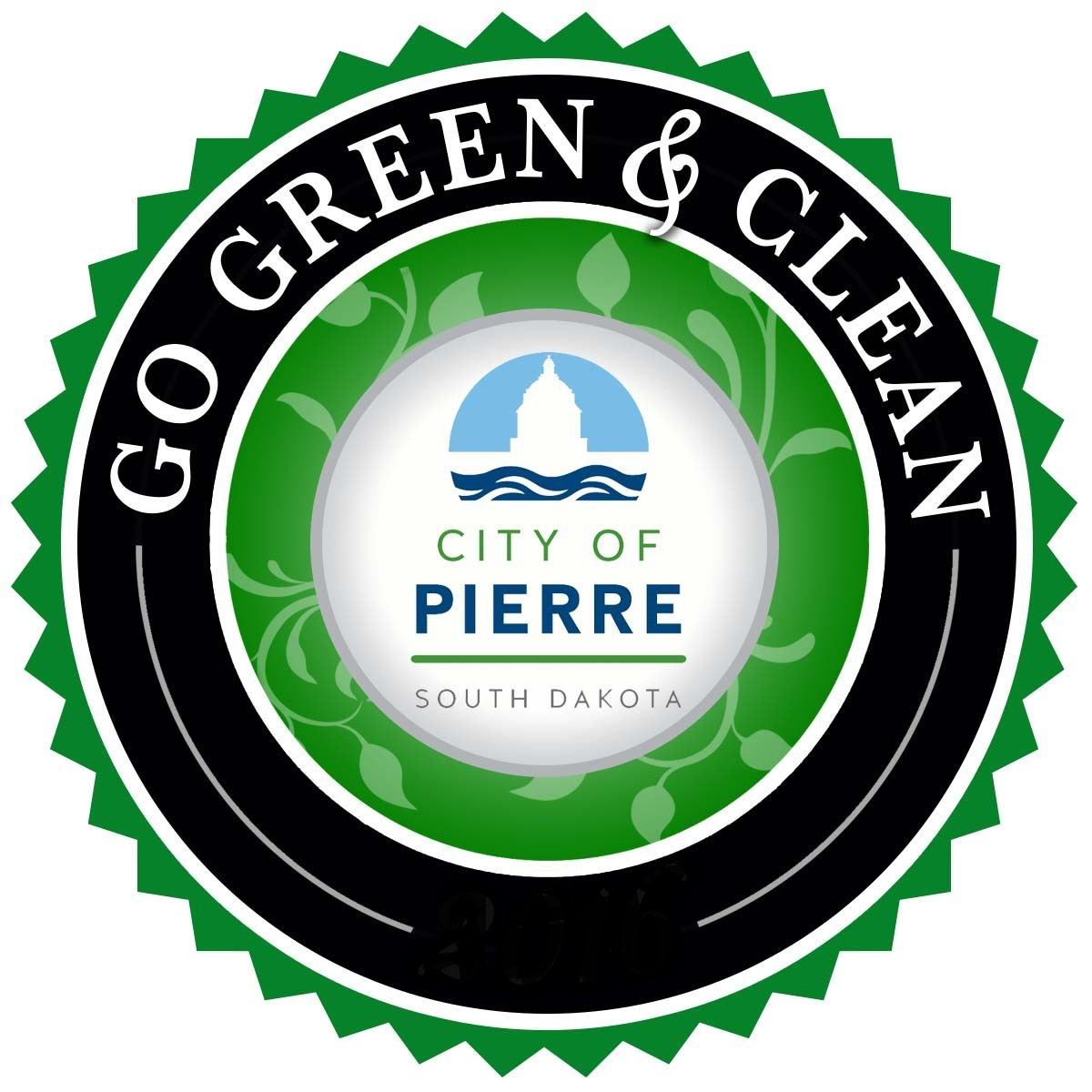 GO GREEN AND CLEAN LOGO