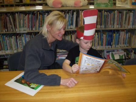 Adult Reading to a Child