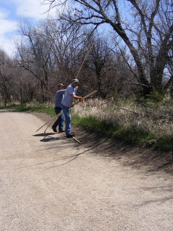 Lewis and Clark Trail Clean-Up