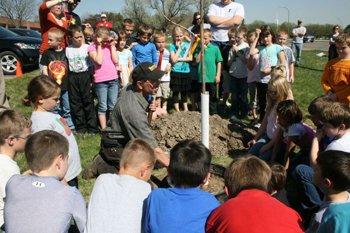 2012 Arbor Day Celebration Held at the YMCA